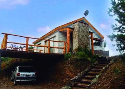 Exterior de la Cabaña 4